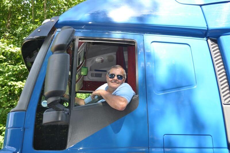 Mitarbeiter Santi-Trans - Transport