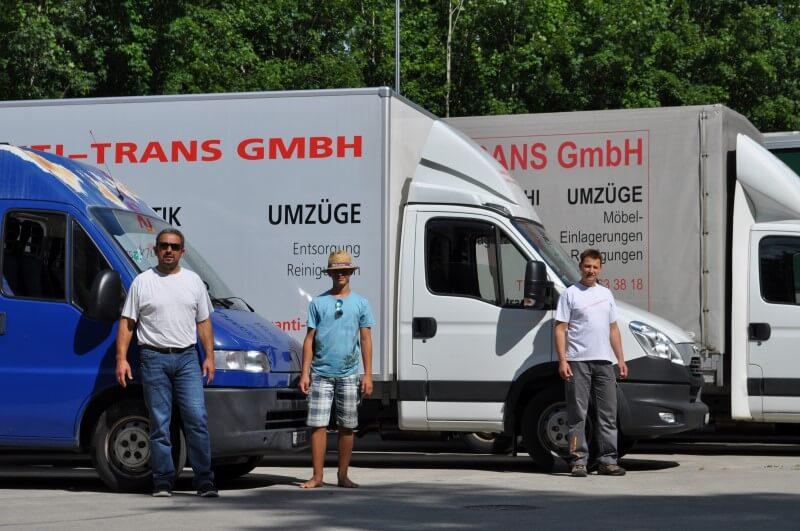 Fahrzeugflotte Santi-Trans - das Logistikunternehmen im Thurgau