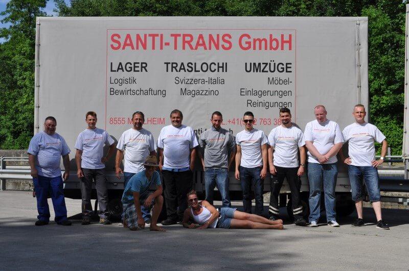 Fahrzeugflotte Santi-Trans - Ihre Logistik Spezialisten