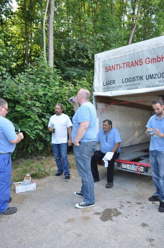Fahrzeugflotte Santi-Trans - Ihr Spezialist für Umzüge