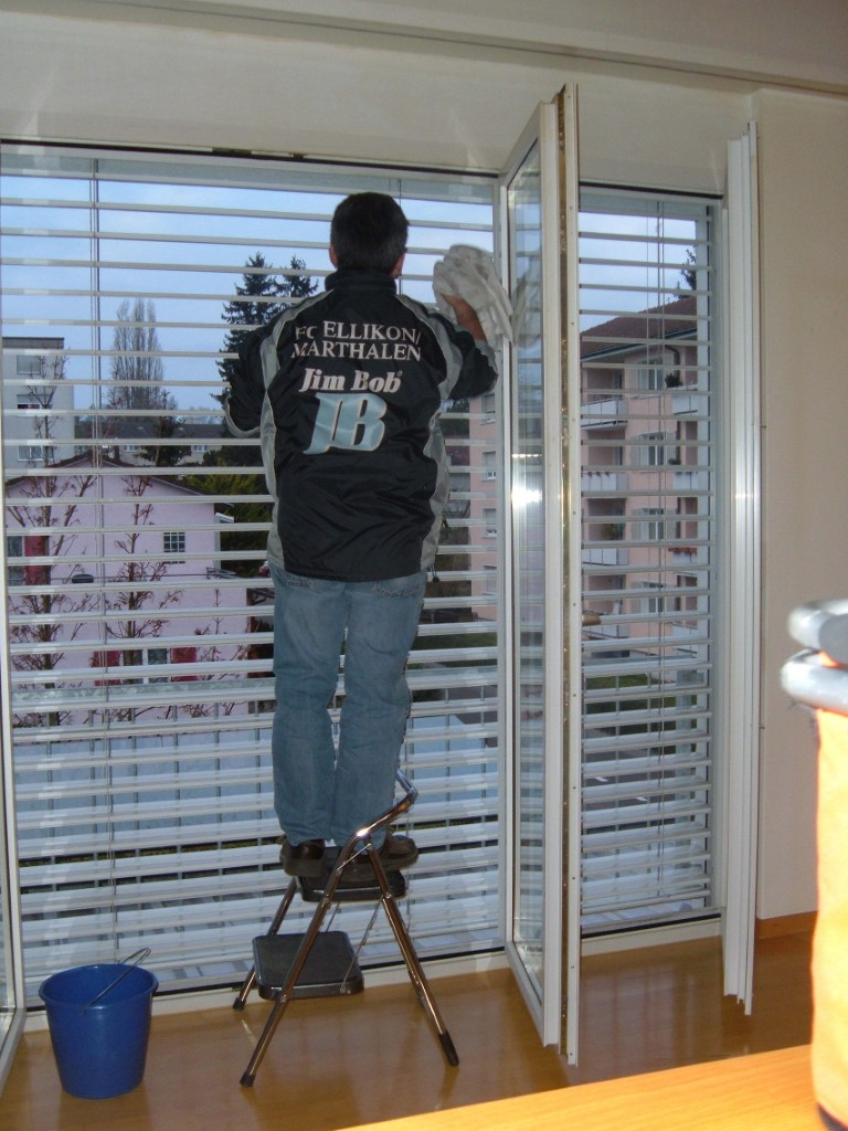 Reinigung - Fenster und Storen
