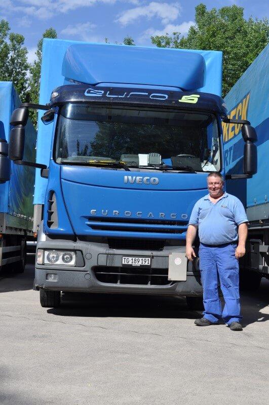 Fahrzeugflotte Santi-Trans - Ihr Spezialist für Transporte von Stückgut