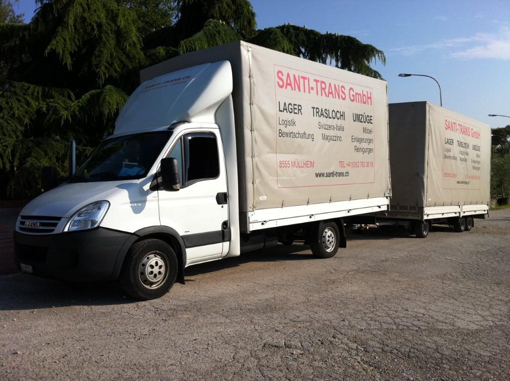 Umzugsfirma Santi-Trans