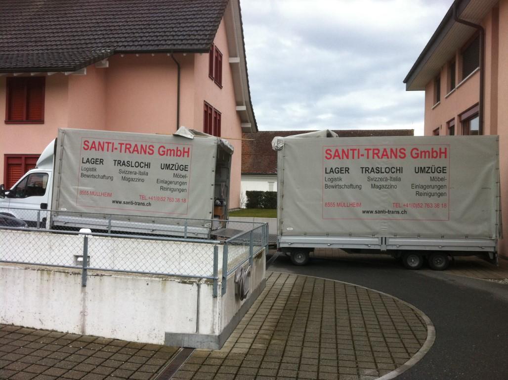 Zügelunternehmen Santi-Trans