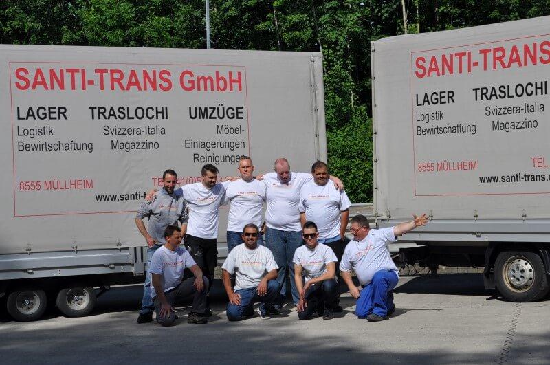 Fahrzeugflotte Santi-Trans - Ihr Spezialist für Transporte im In- und Ausland