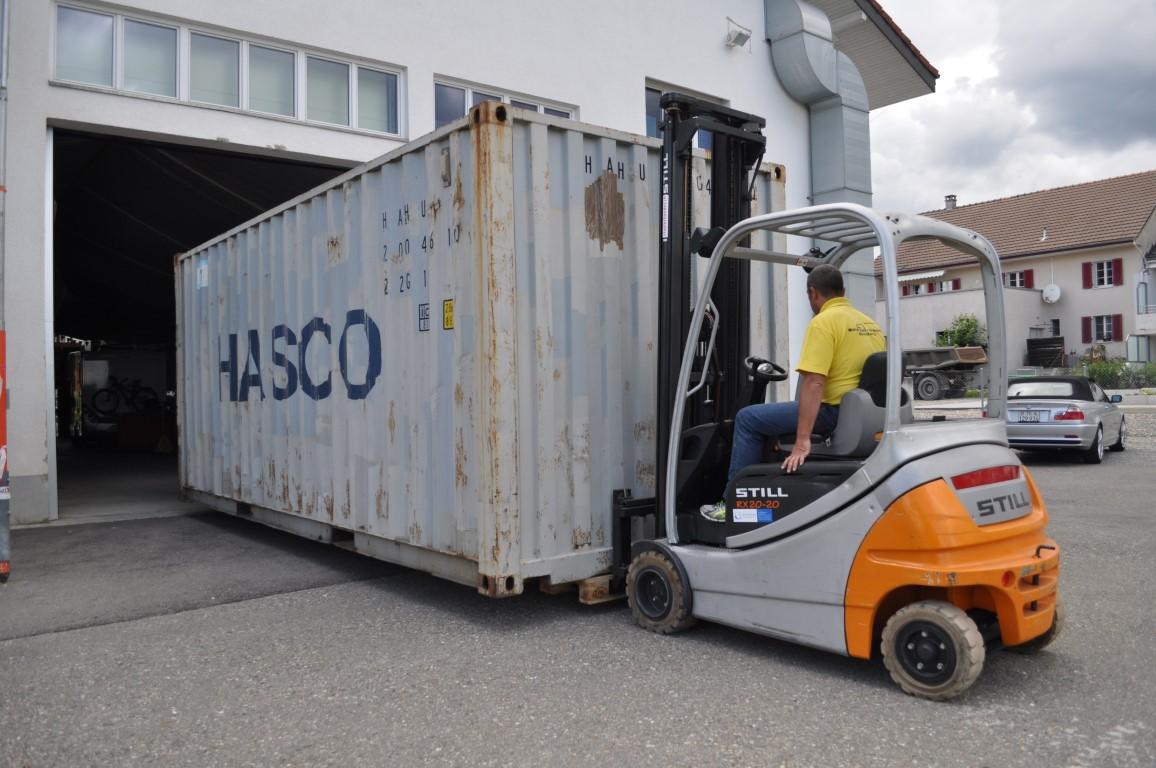 Logistikunternehmen Lagerlogistik
