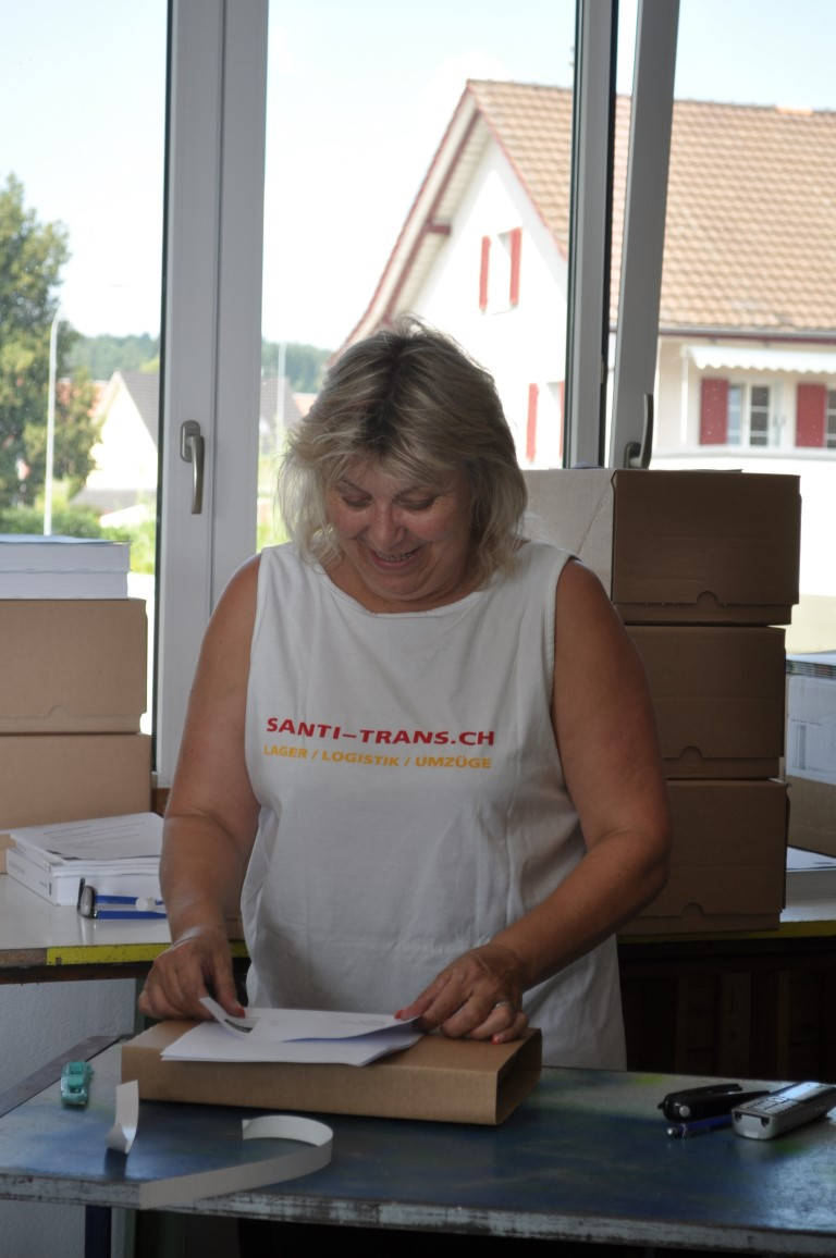 Logistikunternehmen - Versandabteilung
