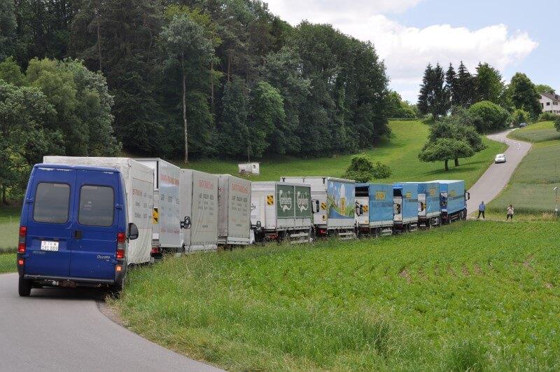 Fahrzeugflotte Santi-Trans - Ihr Spezialist für Lager, Logistik und Transporte
