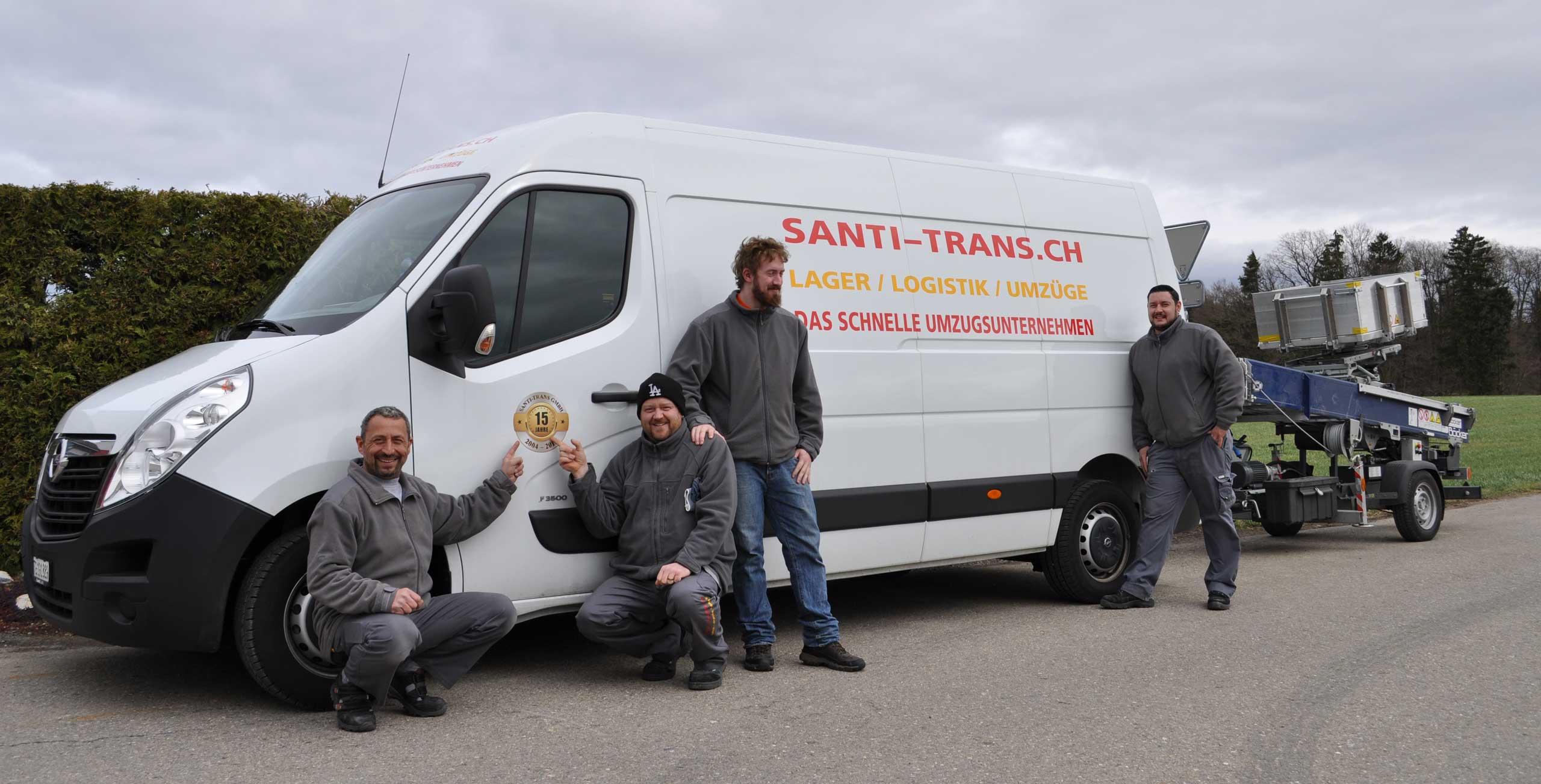 Santi-Trans - professionell Zügeln