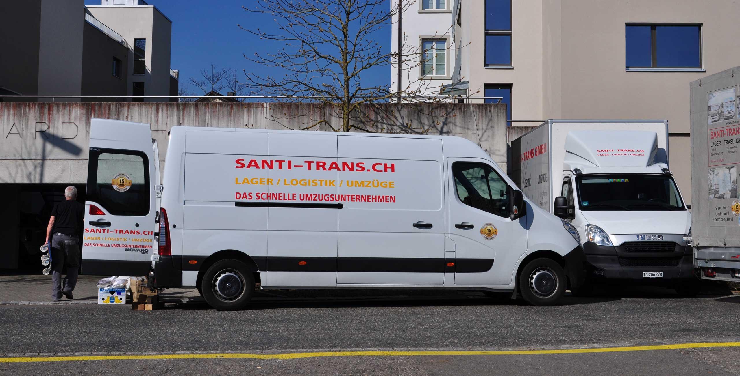 Umzüge vom Profi: Santi Trans
