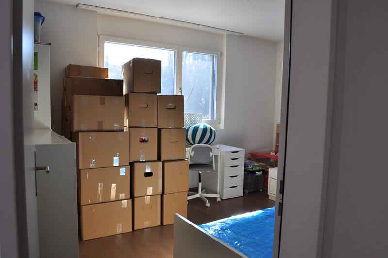 Umzugsservice von A bis Z: Verpacken, etc.