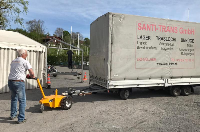 Santi-Trans - Lager, Logistik, Warenwirtschaft, Transporte sowie Umzüge