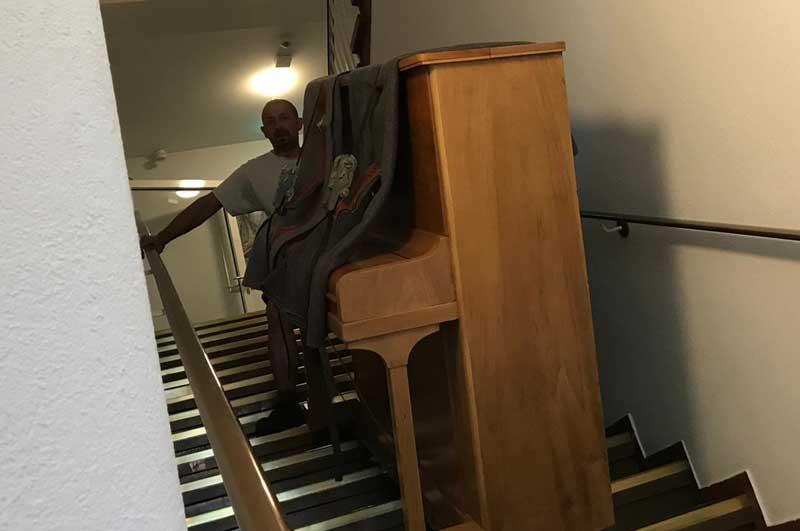 Klaviertransport vom Profi